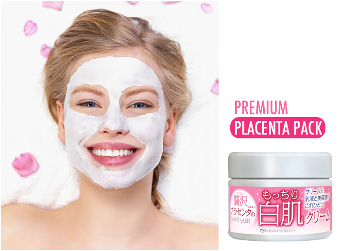 Mặt nạ rửa trôi dưỡng da Premium Placenta Pack chăm sóc tối ưu cho làn da tươi sáng rạng ngời