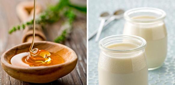 Mặt nạ làm trắng da bằng mật ong và sữa chua