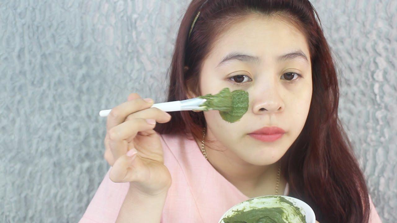 Không nên đắp mặt nạ trà xanh mỗi ngày có thể gây tác dụng ngược