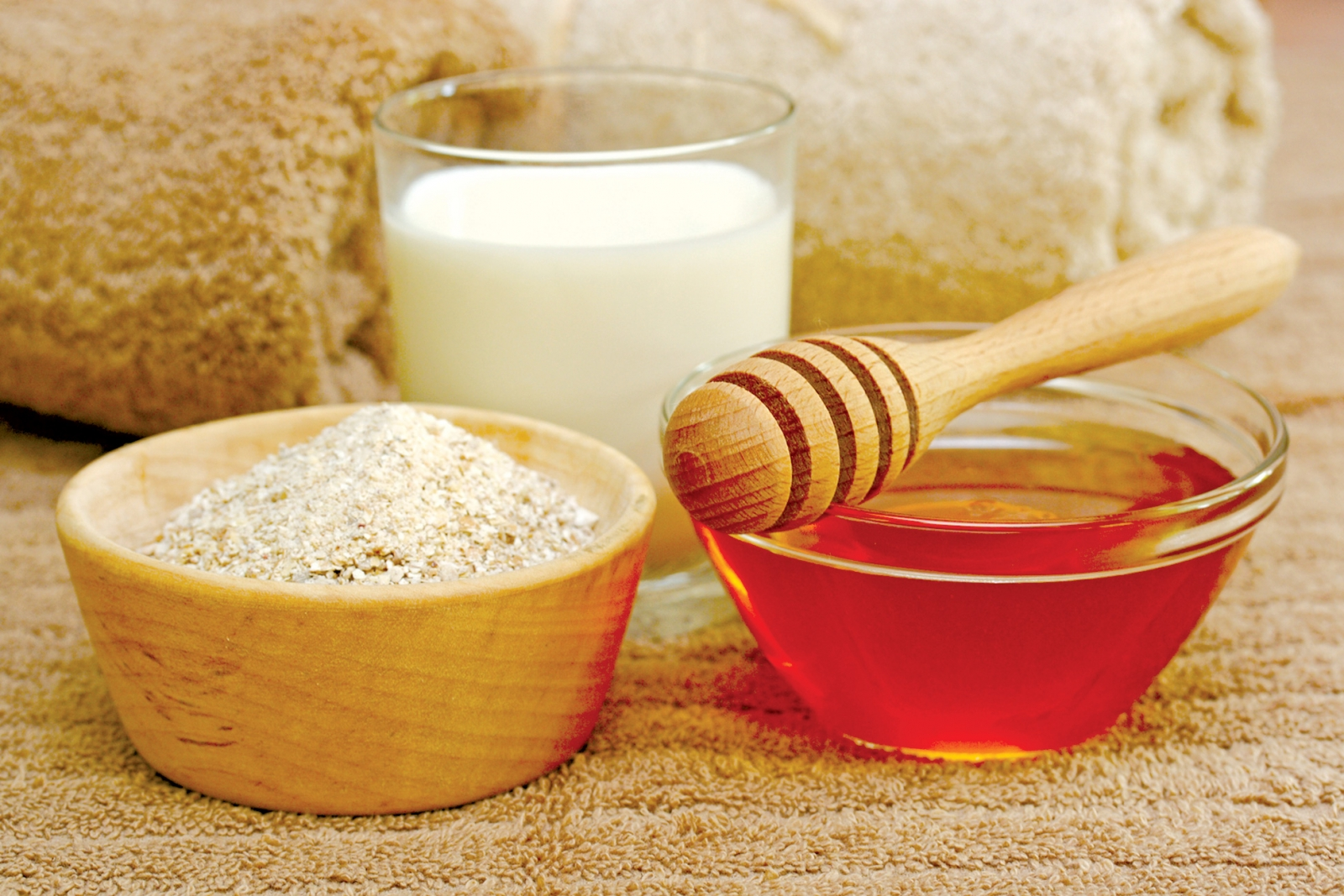 Image result for Baking soda mật ong sữa tươi