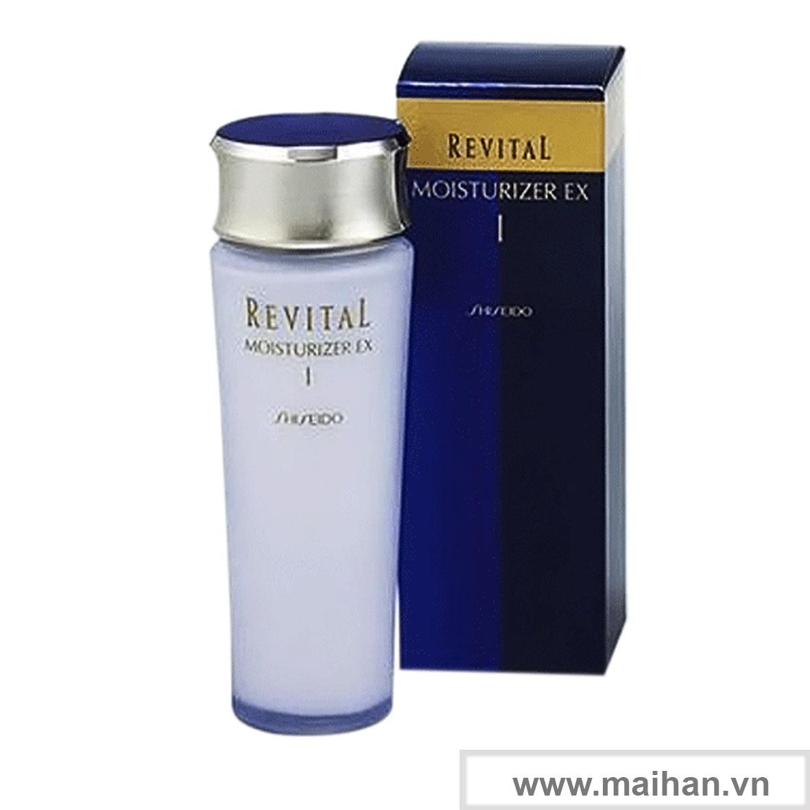 Dưỡng ẩm cho da thường và da dầu Shiseido Revital Moisturizer EX Ⅰ