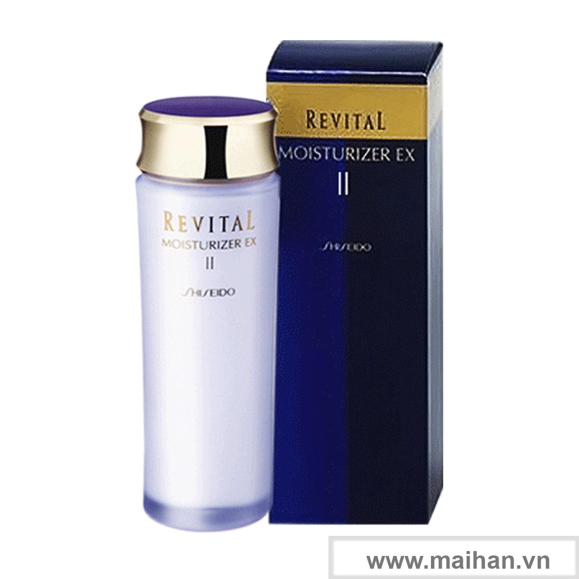 Dưỡng ẩm cho da thường và da khô Shiseido
