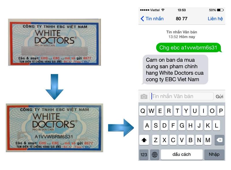 Mua mỹ phẩm White Doctors chính hãng ở đâu?