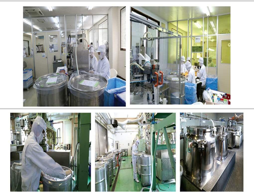 Hệ thống nhà máy đạt tiêu chuẩn an toàn quốc tế của Sakura