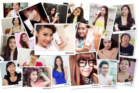 Hàng trăm ca sĩ, diễn viên, người mẫu nổi tiếng trong giới showbiz Việt tin dùng mỹ phẩm Sakura
