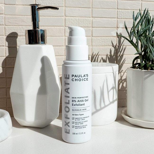 Sản phẩm loại bỏ tế bào chết Paula's Choice Skin Perfecting AHA 8% Lotion