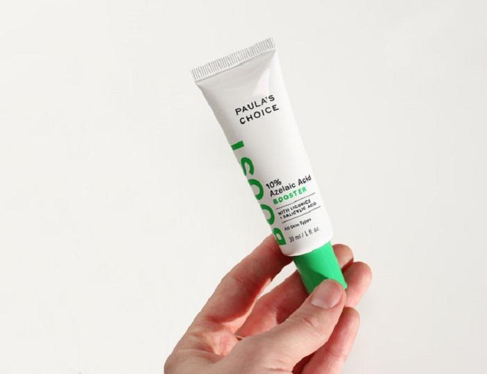 Gel trị mụn và làm mờ vết thâm Paula's Choice 10% Azelaic Acid Booster sự lựa chọn hoàn hảo cho làn da mẫn cảm với Benzoyl Peroxide