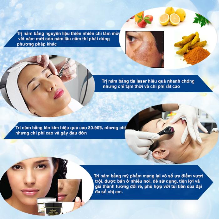 có những cách chữa nám da nào hiệu quả?