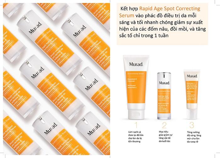 Rapid Age Spot Correcting Serum Serum điều trị đốm nâu và lão hoá do tác động của môi trường MuradVietnam