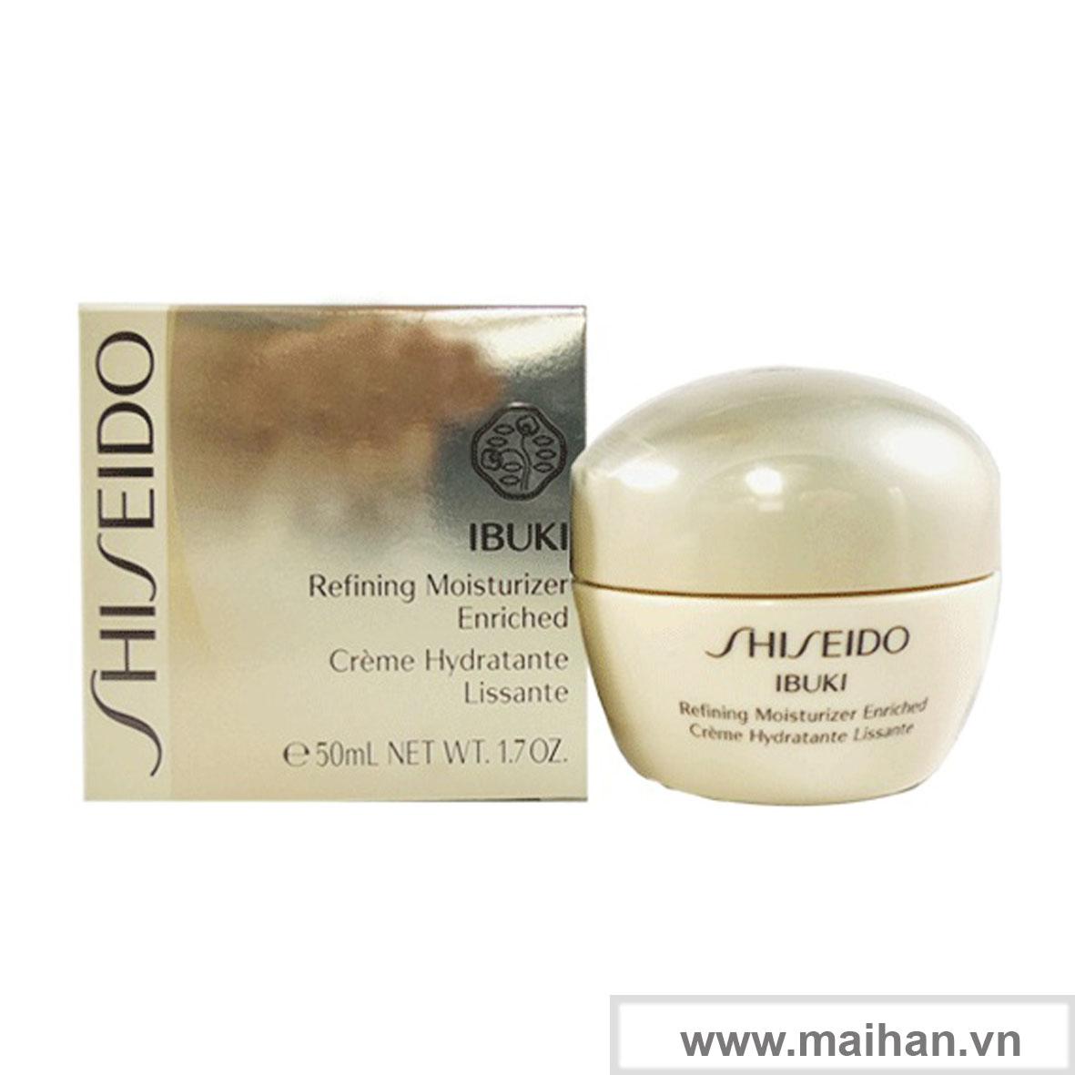Dưỡng ẩm Shiseido Ibuki Refining Moisturizer Enriched