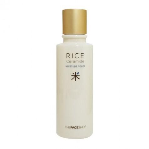 Nước hoa hồng Rice ceramide moisture toner The face shop
