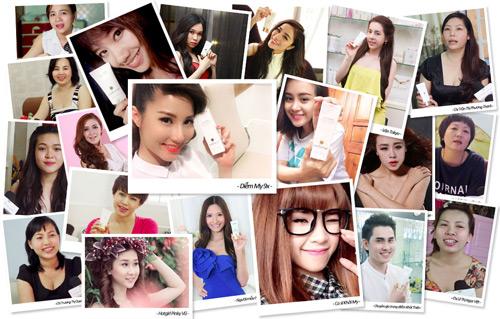 Sao Việt sốt với kem dưỡng da Sakura CC Cream