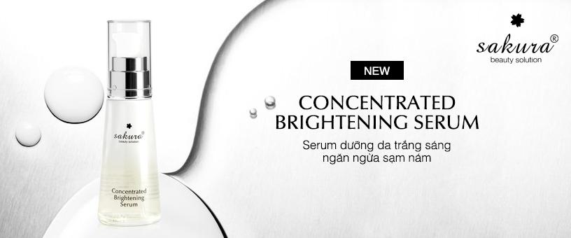 Serum duy trì làm trắng và ngăn ngừa sạm nám Sakura Concentrated Brightening