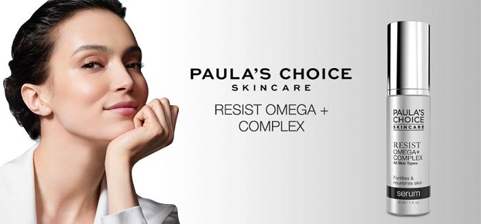 Paula's Choice Resist Omega + Complex Serum giúp tưới mát cho làn da khô cằn trở nên mềm mại