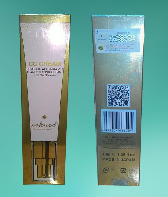 Sakura CC Cream phiên bản mới lại có nguồn gốc xuất xứ từ Nhật Bản