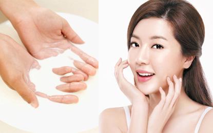 Rửa mặt bằng sữa đậu nành thường xuyên, giúp ngừa lão hóa hữu hiệu