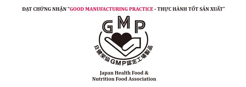 Quy trình sản xuất sản phẩm đạt tiêu chuẩn GMP của Bộ Y Tế Nhật Bản
