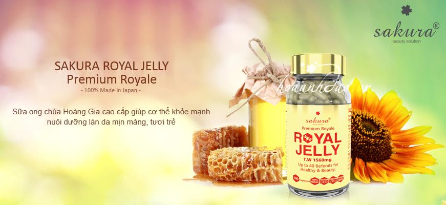 Sữa ong chúa Sakura Royal Jelly có phải là một giải pháp thần kỳ
