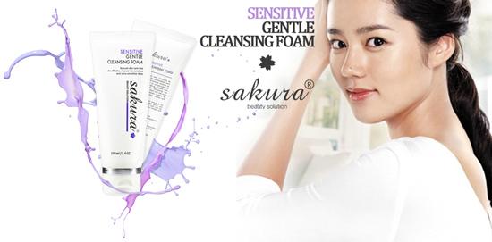 Sữa rửa mặt trị mụn cho da nhạy cảm Sakura giá bao nhiêu?