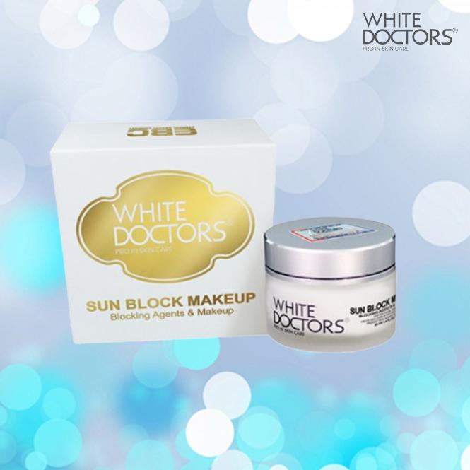 Kem chống nắng trang điểm mặt Sun Block Makeup White Doctors (màu mới)