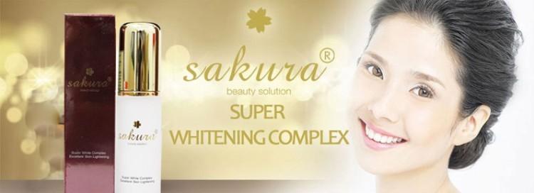 Kem dưỡng trắng da chống lão hóa Sakura Super White Complex