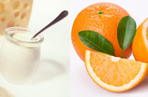 Tắm trắng an toàn hiệu quả tại nhà bằng cam và sữa tươi