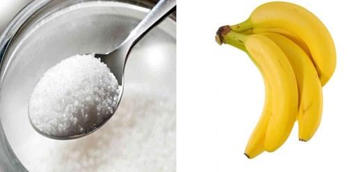 Tẩy tế bào chết bằng chuối và đường da sẽ mềm mại hơn