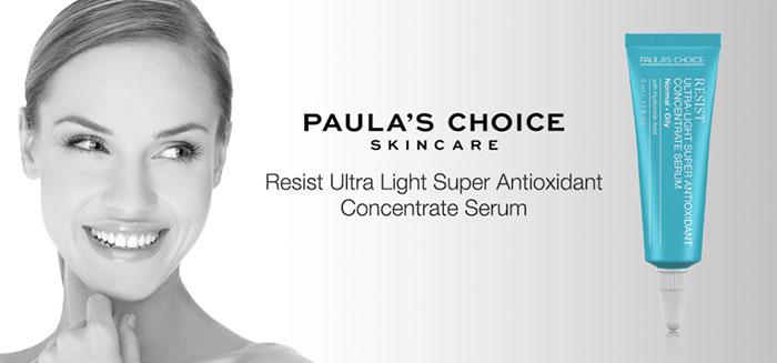 Serum ngăn ngừa lão hóa Paula's Choice Resist Ultra Light Super Antioxidant Concentrate Serum