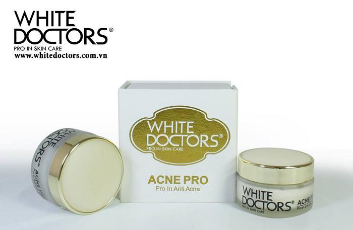 Kem hỗ trợ giảm mụn và sẹo thâm Acne Pro White Doctors