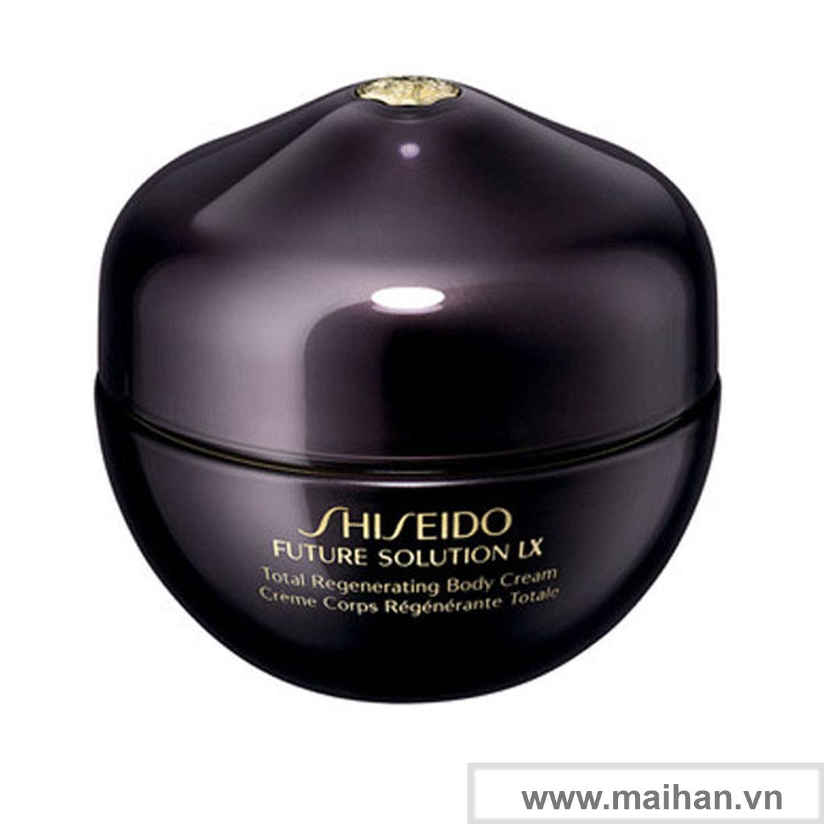 Kem dưỡng thể Shiseido Total Regenerating Body Cream
