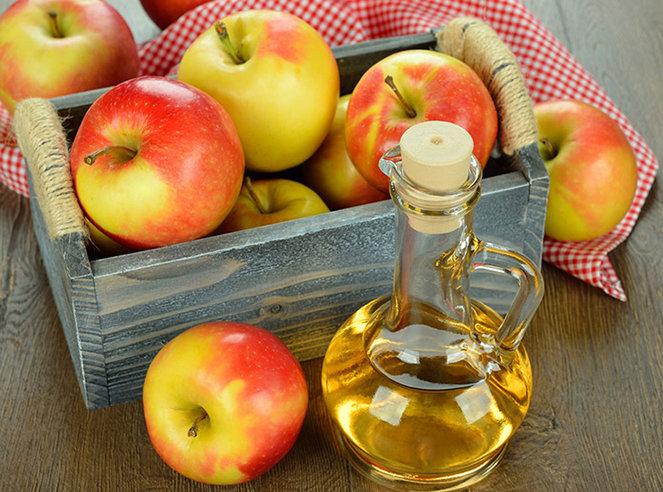 Giấm táo là một nguyên liệu giúp trị nám tuyệt vời