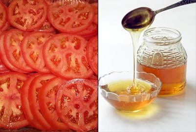 Cà chua và mật ong vừa trị nám vừa dưỡng ẩm hiệu quả