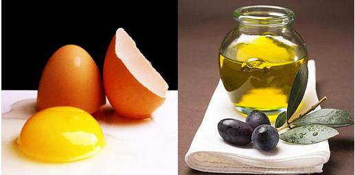Mặt nạ trứng gà và dầu ô liu