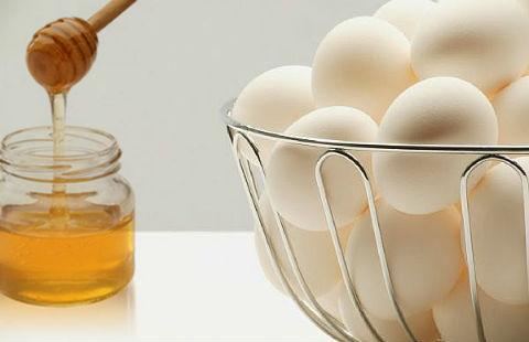 Trứng và mật ong