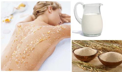 Tắm trắng với nguyên liệu tự nhiên an toàn cho da