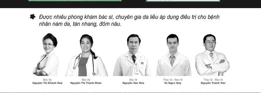 Viên uống trị nám Sakura được nhiều bác sĩ chuyên khoa da liễu khuyên dùng