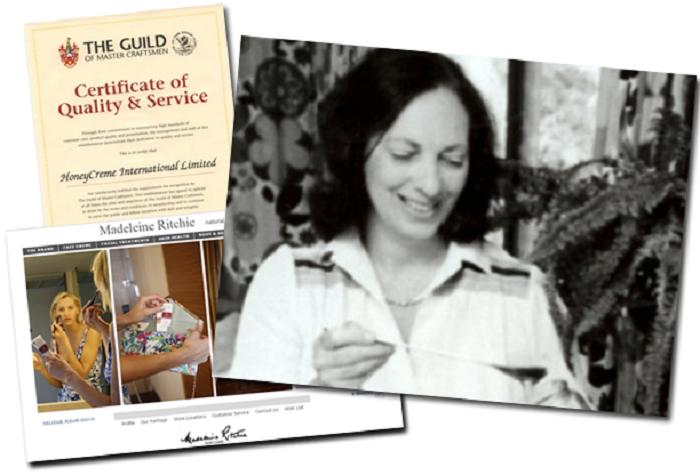 Madeleine Ritchie trở thành thương hiệu chăm sóc da hàng đầu trên thế giới