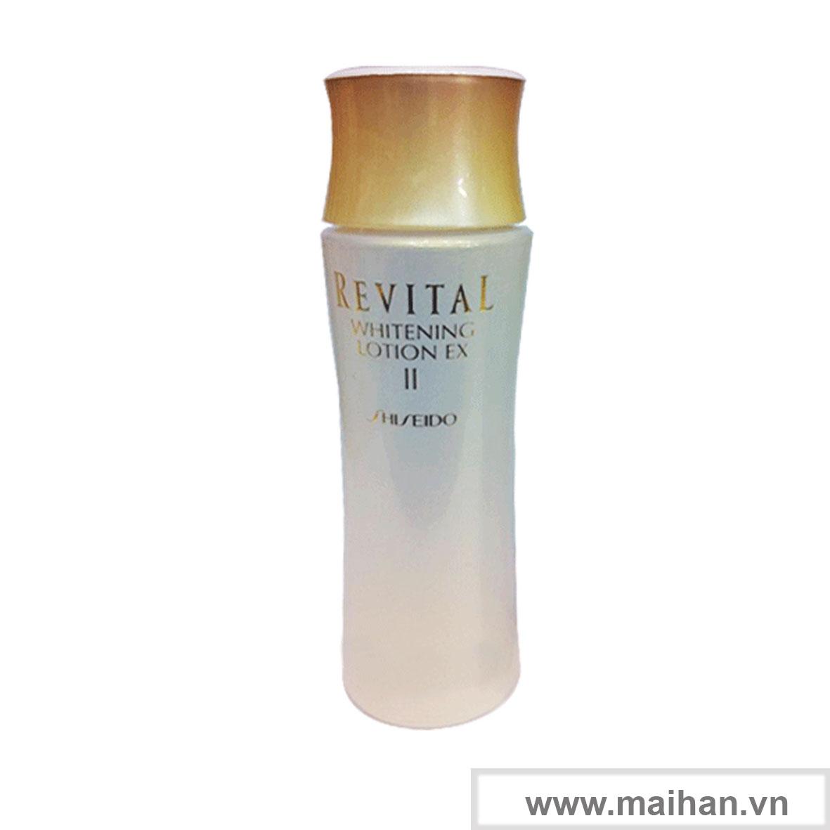 Dưỡng trắng cho da thường và da khô Shiseido