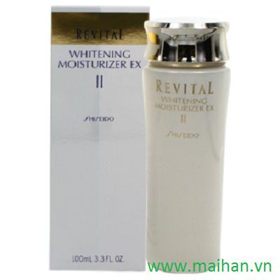 Sữa dưỡng ẩm và làm trắng da cho da thường và da khô Shiseido