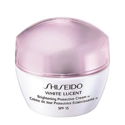 Kem dưỡng ngày làm trắng cho da khô Shiseido White Lucent Brightening Protective Cream w