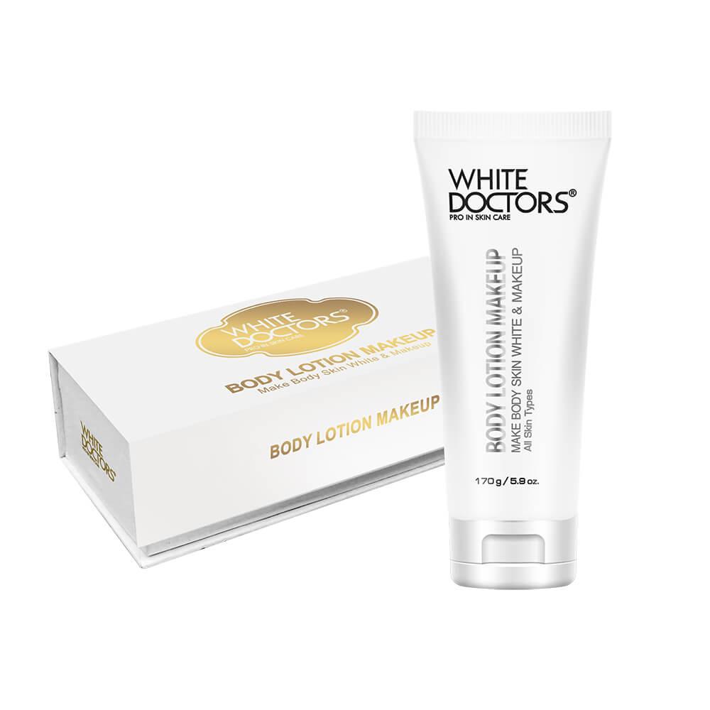 Kem dưỡng thể chống nắng trang điểm, trắng da White Doctors chính hãng 100%