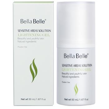 Gel dưỡng trắng da vùng nhạy cảm Bella Belle Sensitive Areas Solution Lightening Gel - Tặng 1 muối tắm Himalaya 0 - 1mm (bịch)
