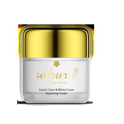 Kem dưỡng trắng, phục hồi da ban đêm Sakura chính hãng của Nhật