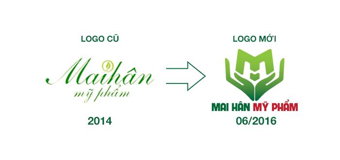 Tiết lộ ý nghĩa của logo Mỹ phẩm Mai Hân khiến ai cũng phải bất ngờ