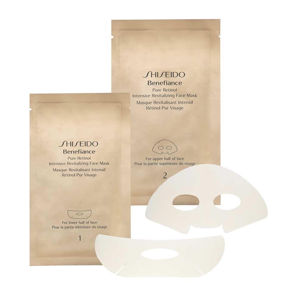 Mặt nạ tái tạo da chuyên sâu Shiseido Benefiance Pure Retinol Intensive Revitalizing Face Mask