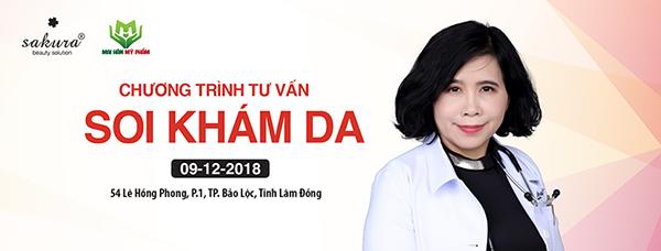 Hành trình Soi da tư vấn - Đồng hành cùng Đại lý của Mai Hân Mỹ phẩm trong năm 2018 hoàn thành tốt đẹp với điểm đến Bảo Lộc