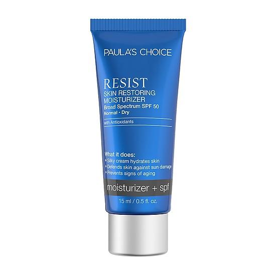 Kem chống lão hóa chống nắng Paula's Choice Resist Skin Restoring Moisturizer SPF 50 15ml
