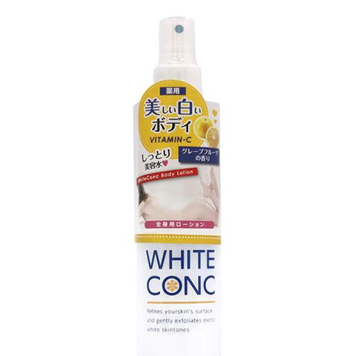 Xịt dưỡng trắng da toàn thân White ConC Body Lotion