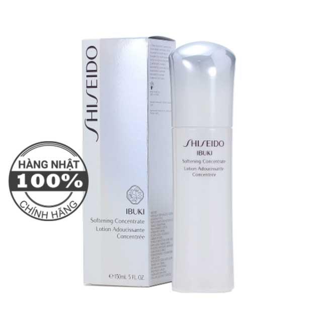 Nước cân bằng, làm mềm da Shiseido Ibuki Softening Concentrate
