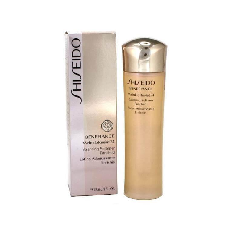 Nước làm mềm da chống lão hóa Shiseido Benefiance WrinkleResist24 Balancing Softener Enriched